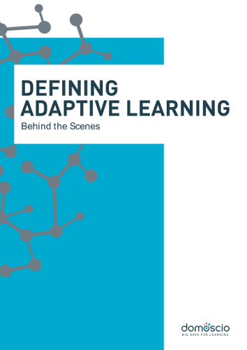 White Paper - Adaptive Learning, behind the scenes